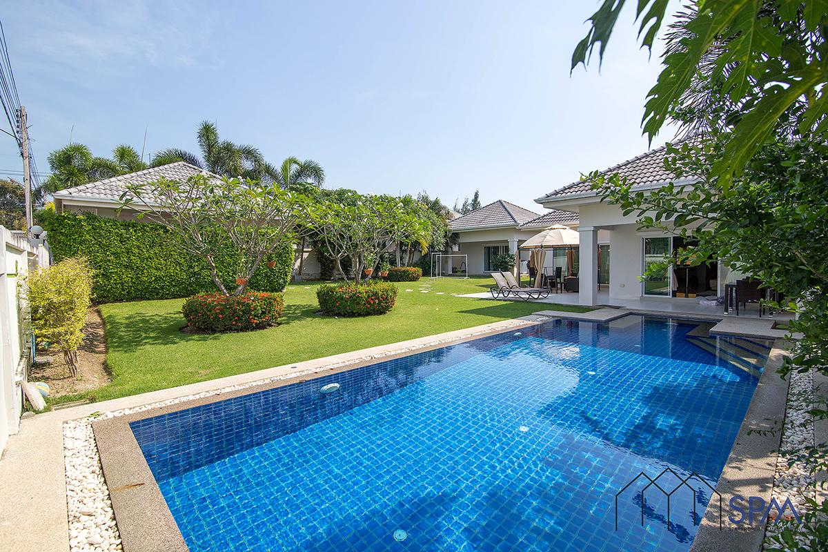 Beautiful Pool Villa for Rent at Gold HuaHin 88