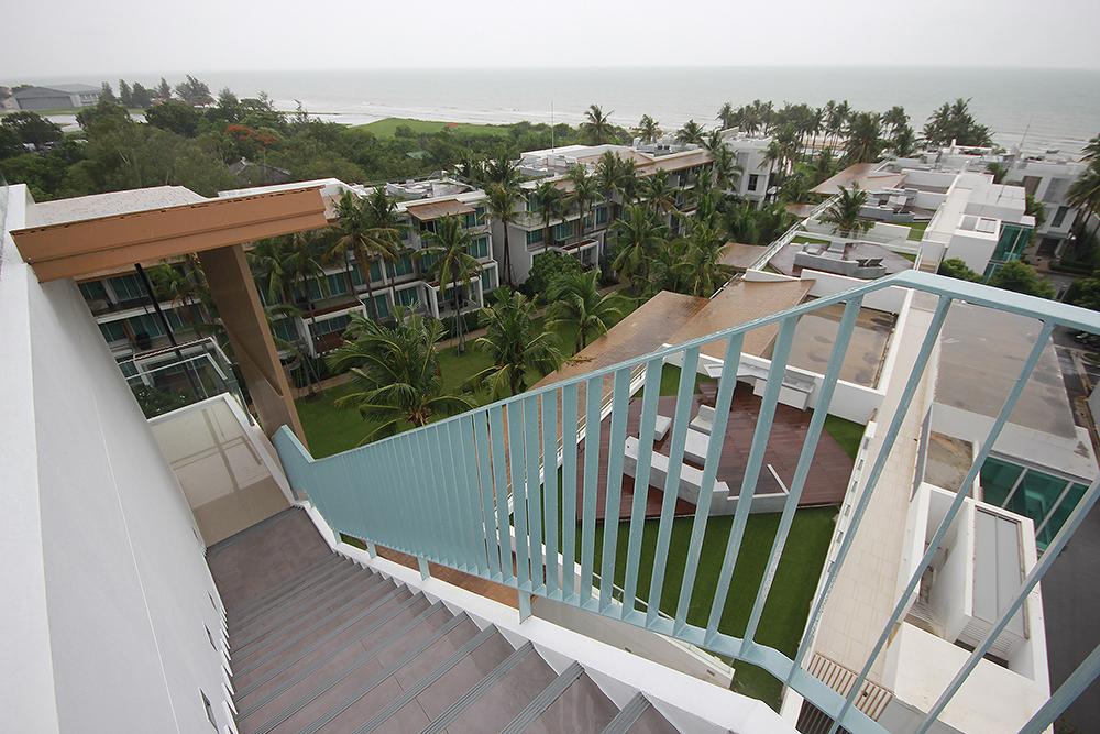 Ocas Condominium on the Beach in Hua Hin Top floor