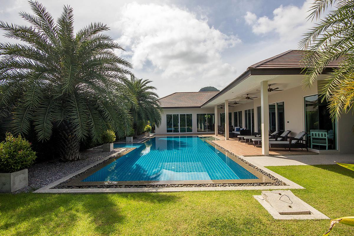 Wonderful Fully Furnished Pool Villa Hua Hin Soi 114 for Rent