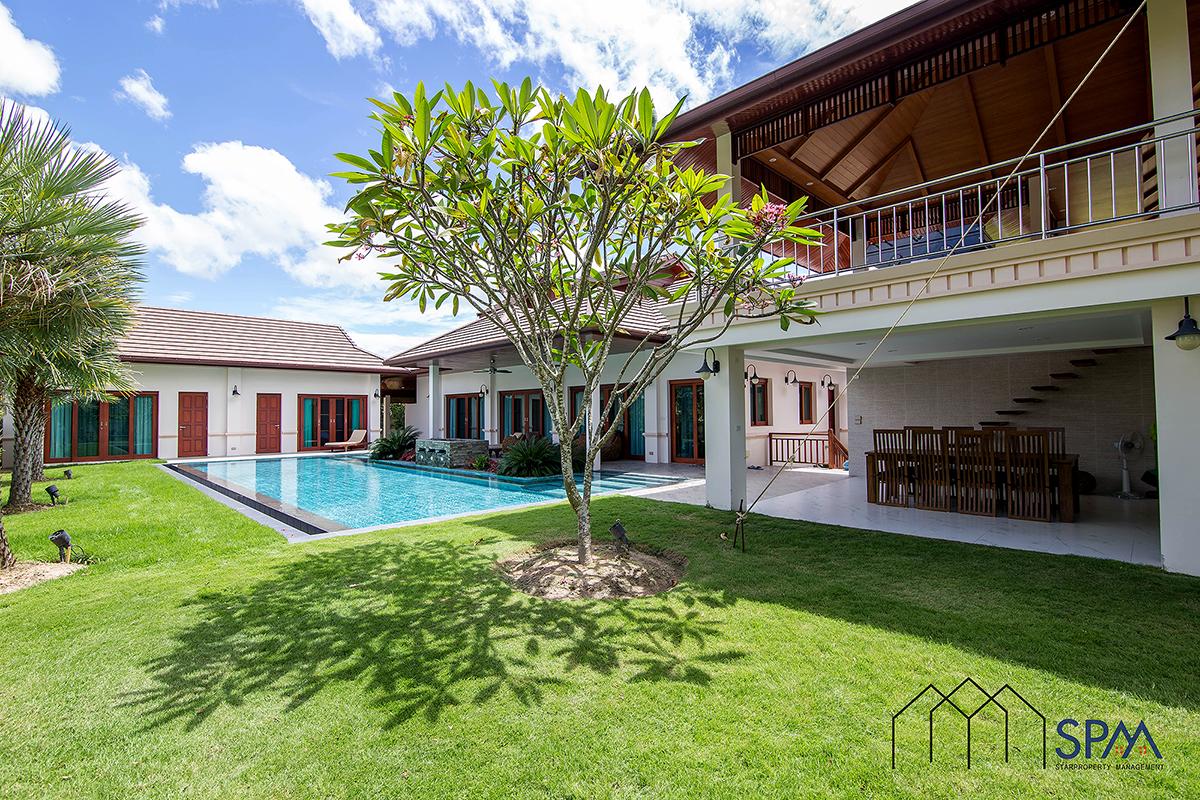 Thai Bali Style Villa with Pool for Sale Hua Hin 88