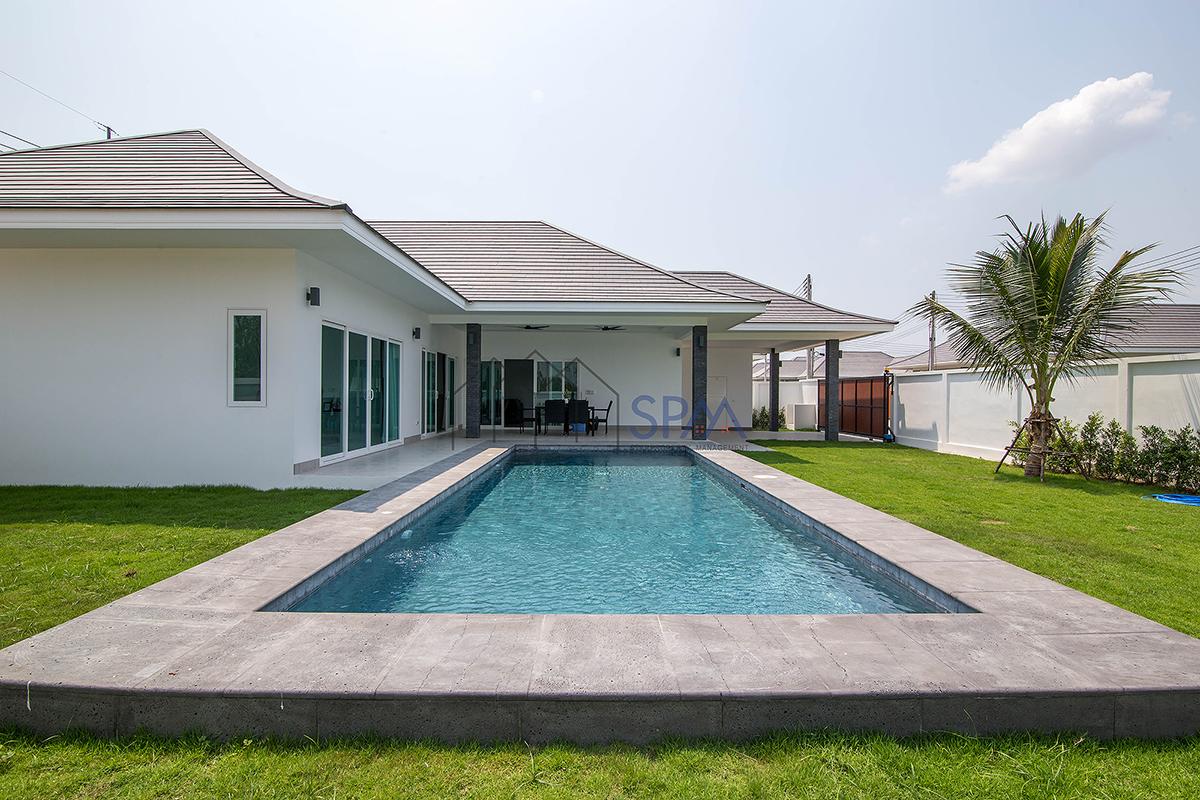 New Pool Villa at Aria Hua Hin Soi 88.