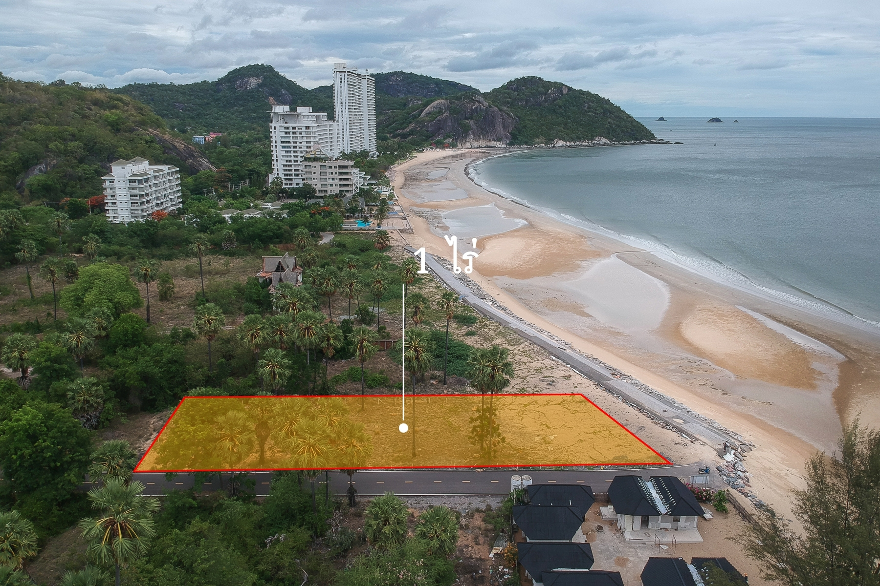 Beach Land for Sale Hua Hin-Khao Tao-Pranburi