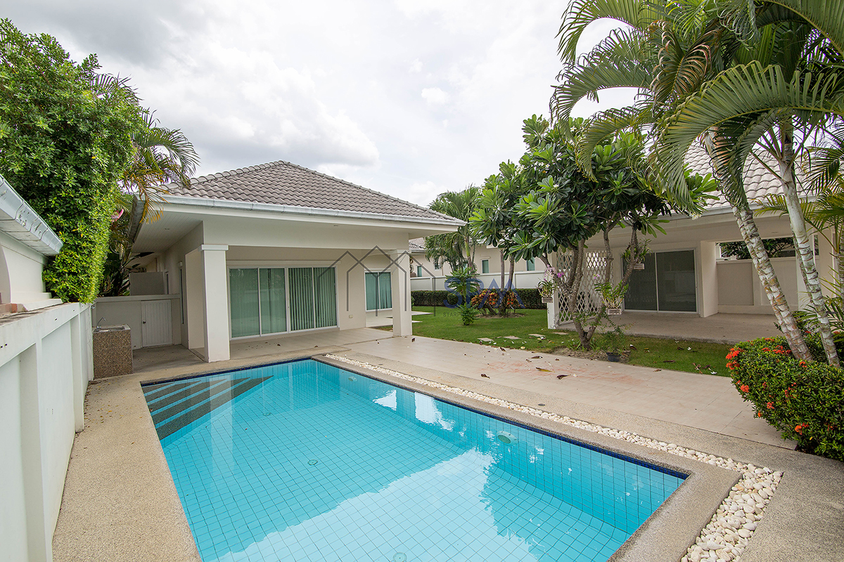 Pool Villa for Sale at Gold A Hua Hin Soi 88