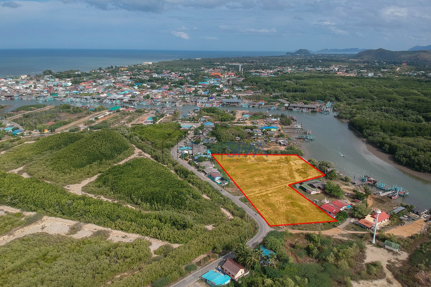 Land for Sale Near the Marina project Paknampran