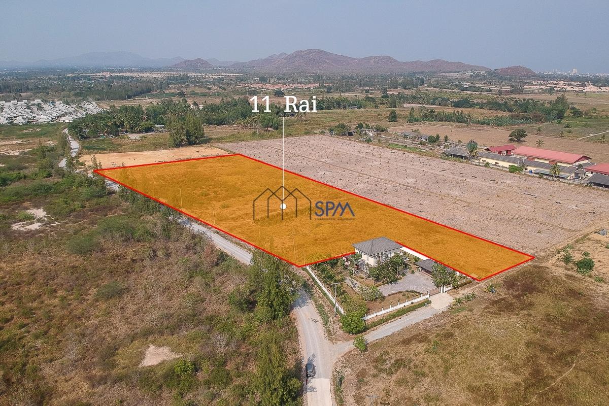 11 Rai Land for Sale at Hua Hin Soi 112