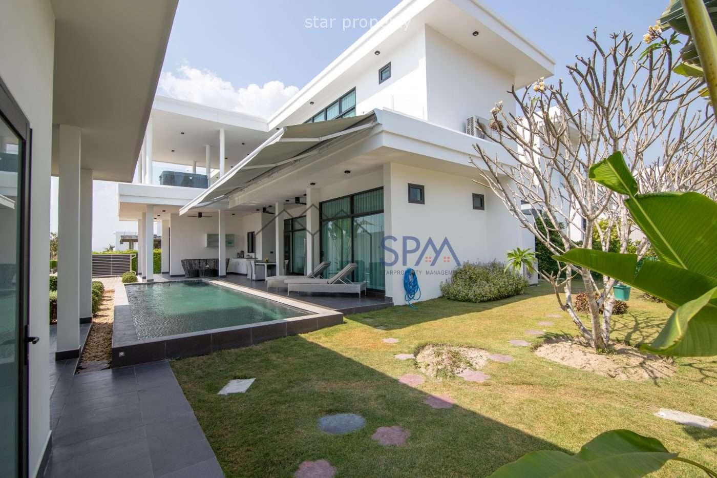 Pool Villa resort style for sale at La Lua Resort