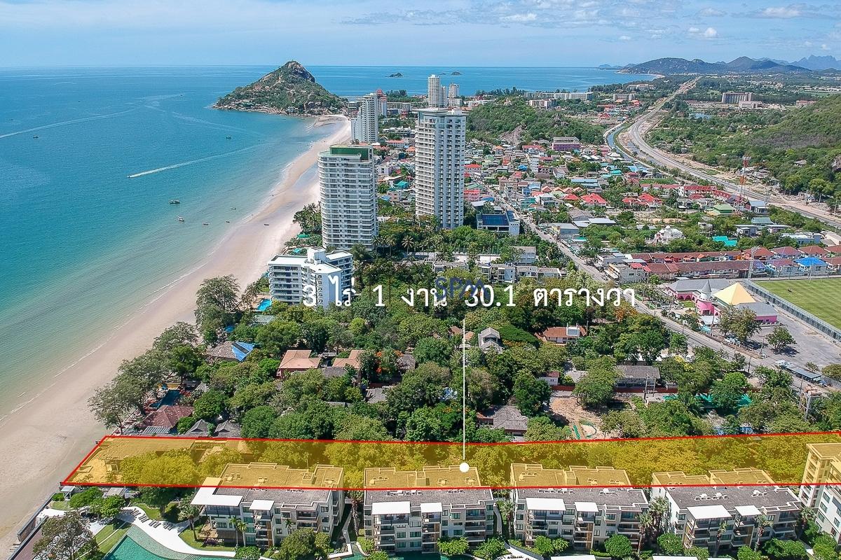 Beach Land for Sale Hua Hin-Khaotakiab Price 90 Million Baht per Rai (1600 sq.m.)