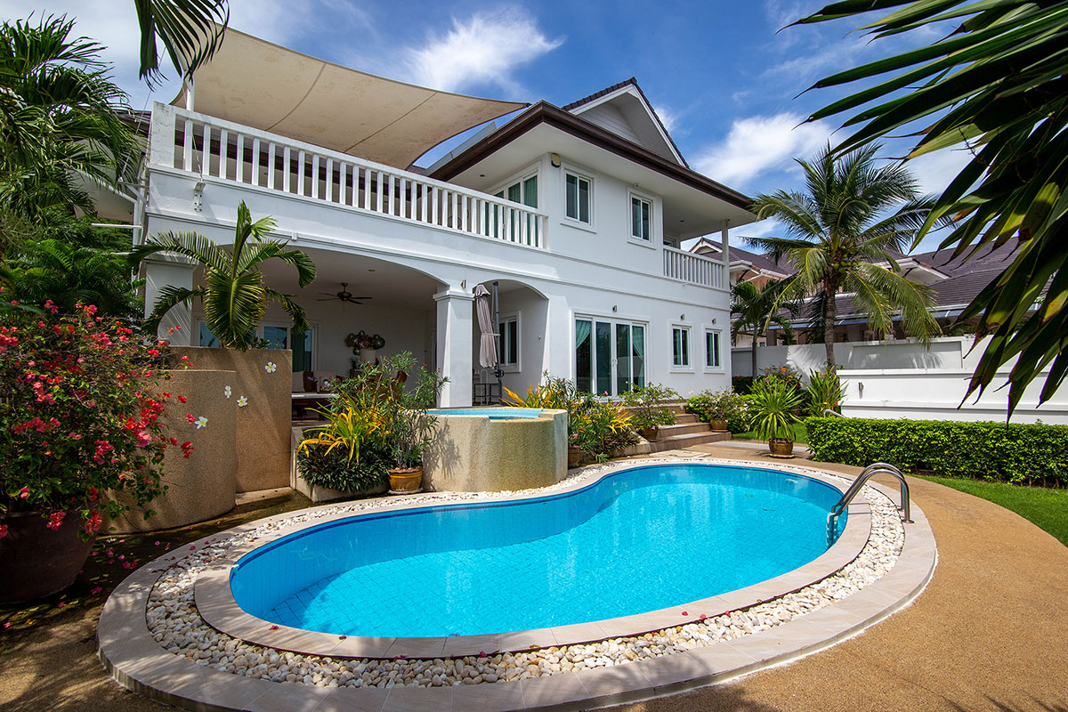 Beautiful House at The Height II for Rent with Private Pool, Hua Hin Soi 156