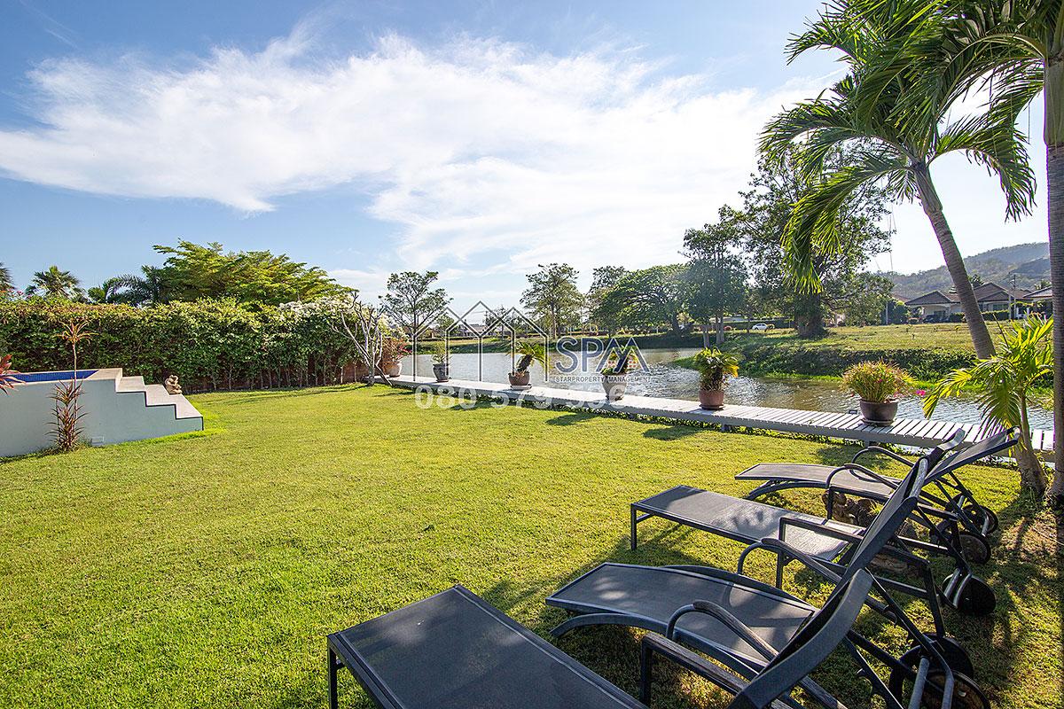 Lake View Pool Villa for rent at Laguna Hua Hin Soi 102