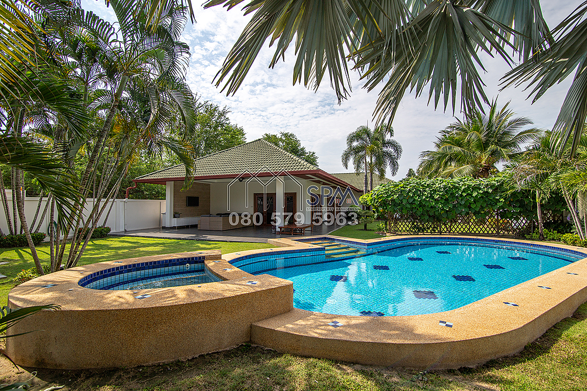 Pool Villa For Rent at Coconut Garden 1 Hua Hin Soi 70