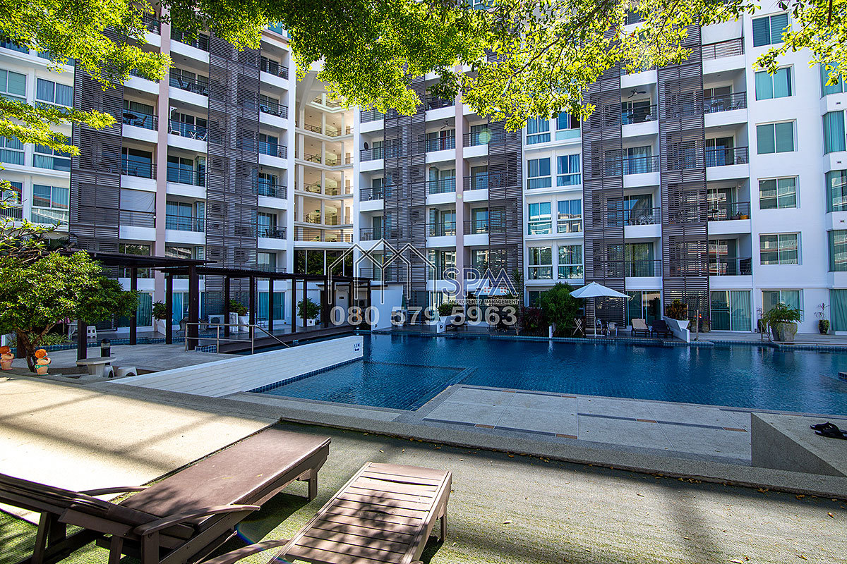 2 bedrooms Unit, pool view at Tira Tiraa Condominium in town for Sale