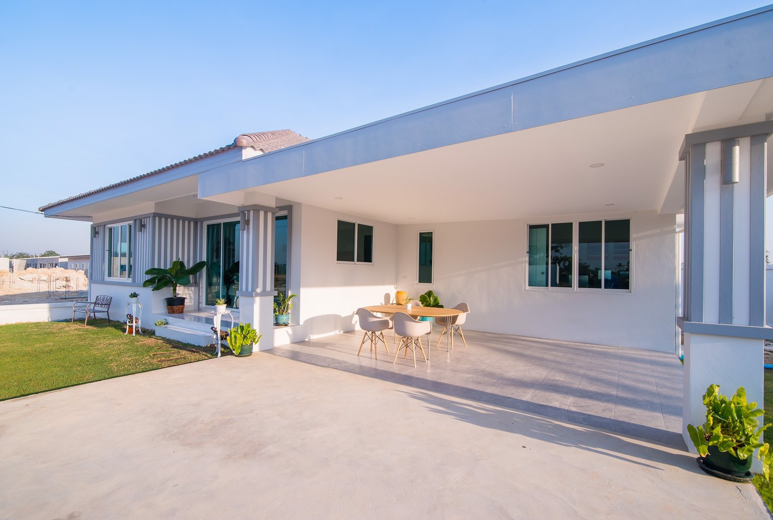 ฺBrand new bungalow for sale at The Village Hua Hin Soi 88
