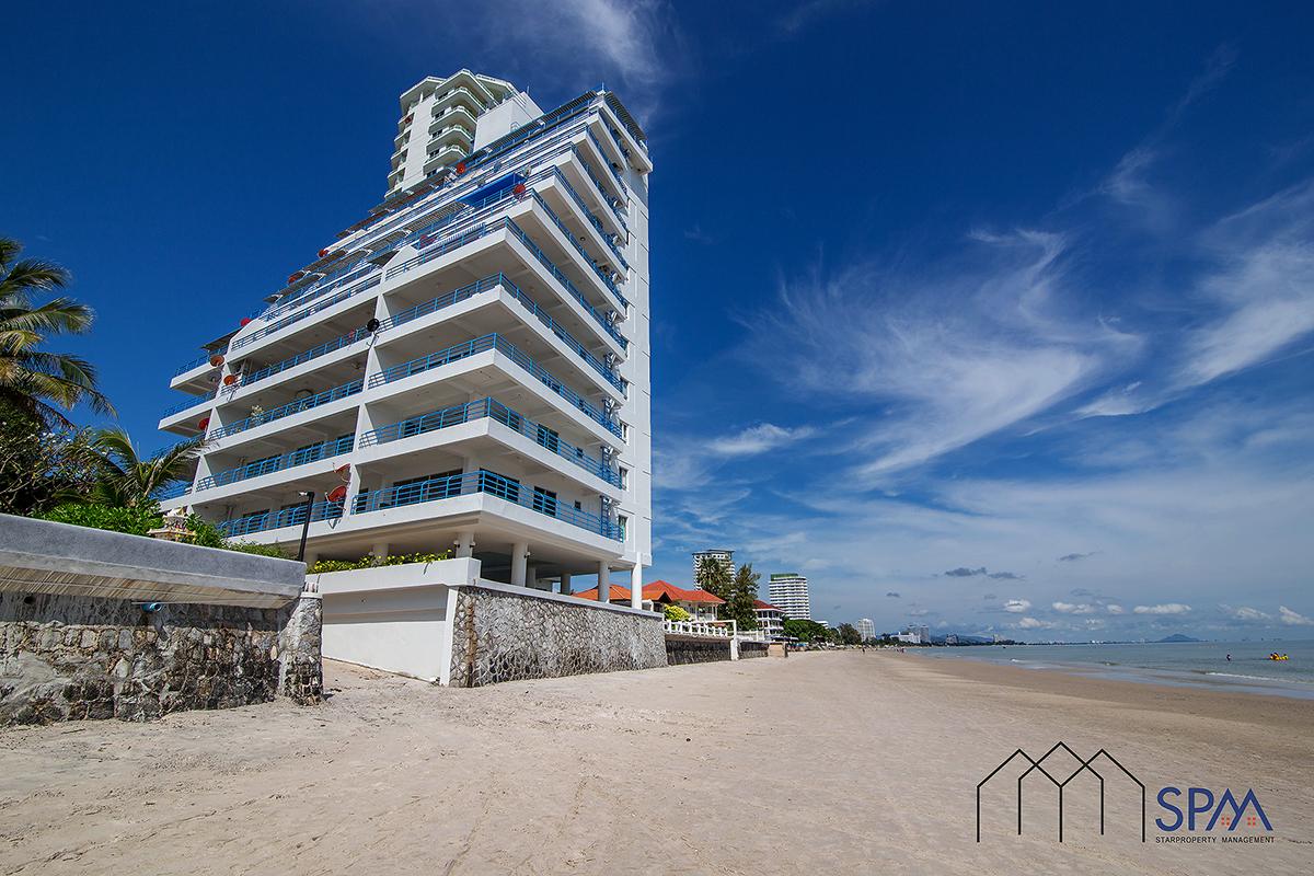 Sea View, 2 bedrooms Unit at Baan Sangchan on the beach Khaotakiab