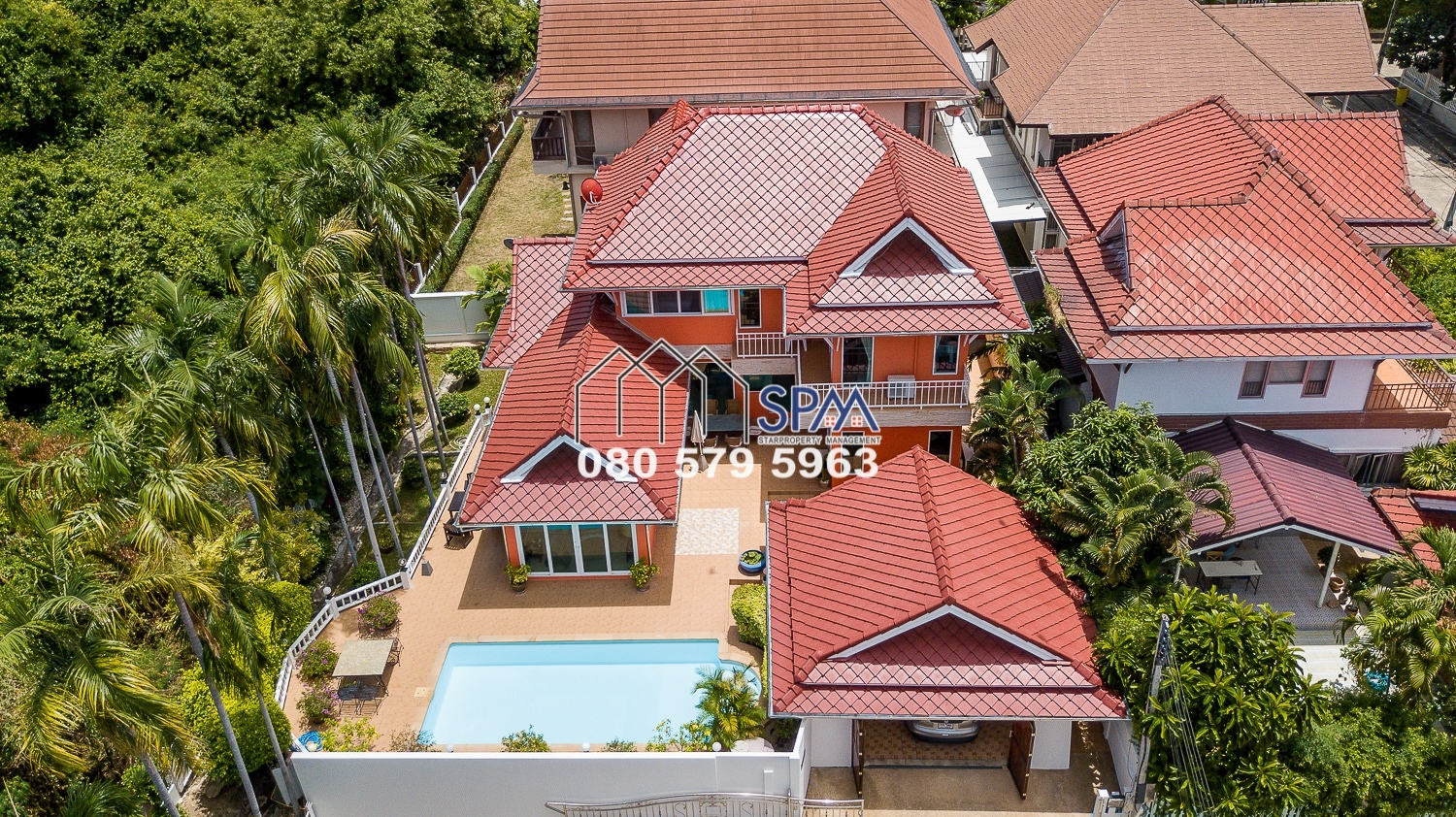 Pool Villa at Beverly Hills, Hua Hin town center for Sale
