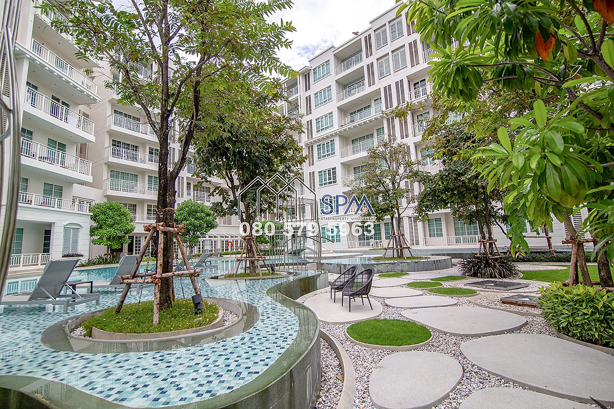2 Bedrooms unit at Summer Condominium Khaotakiab, Pool View for Sale