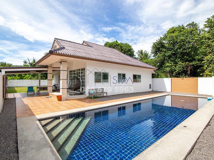 HOT DEAL Pool Villa, 2 bedrooms at Sampraya Cha Am for sale
