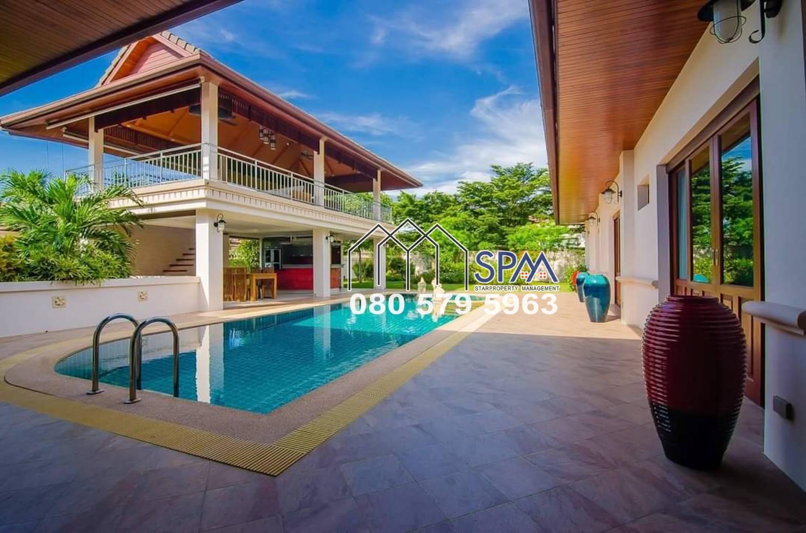 Four Bedrooms Pool Villa At Hua Hin Hill Side Hamlet, Hua Hin Soi 88