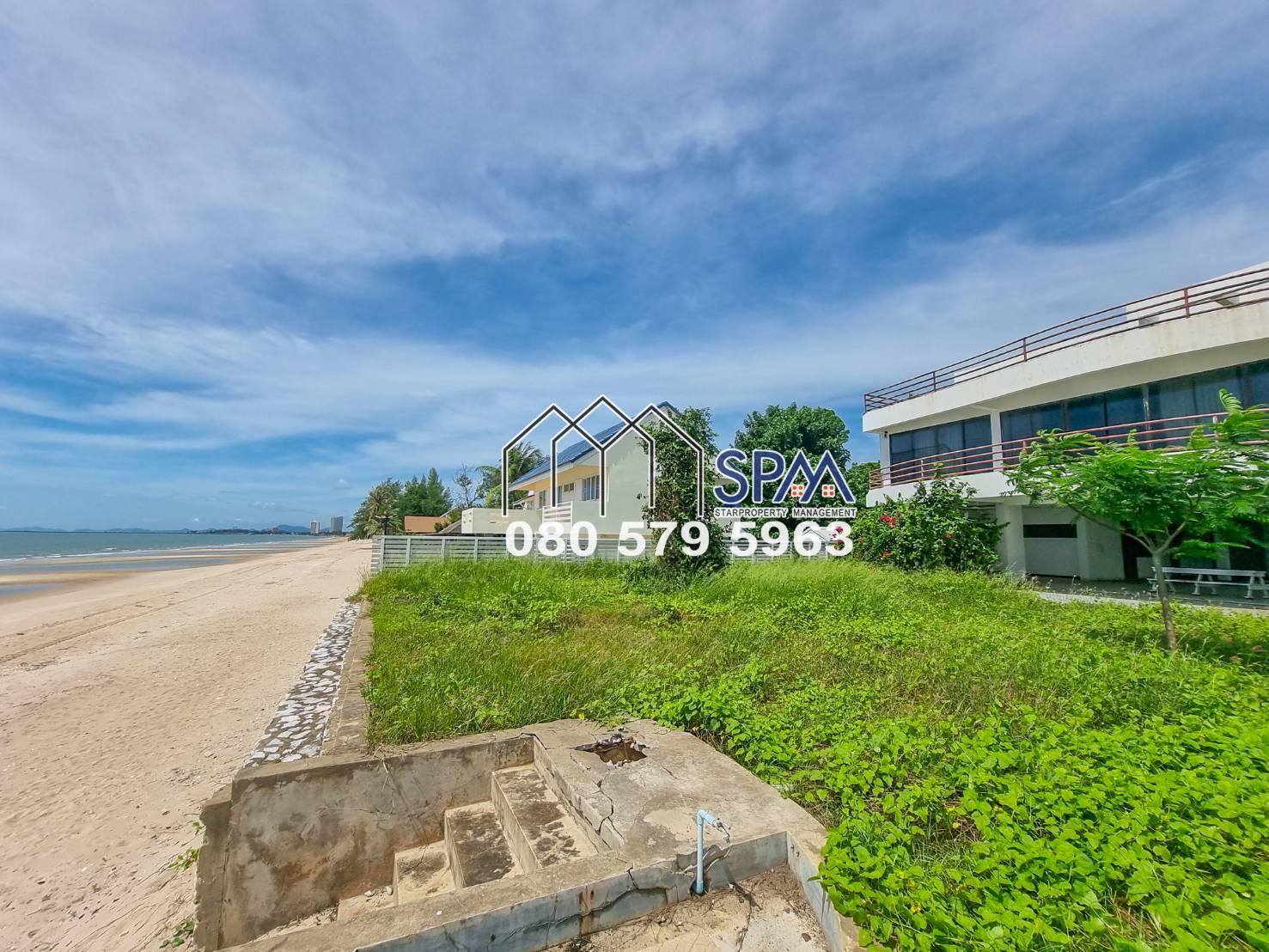 ฺBeach Front House for Sale at Cha Am